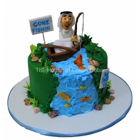 Fishing cake 3