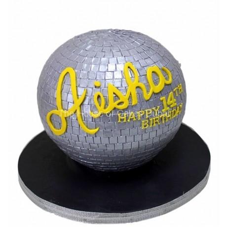 disco ball cake 12