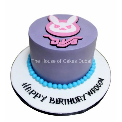 D.VA bunny cake