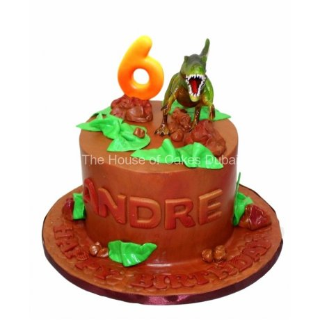 Dinosaur cake 7
