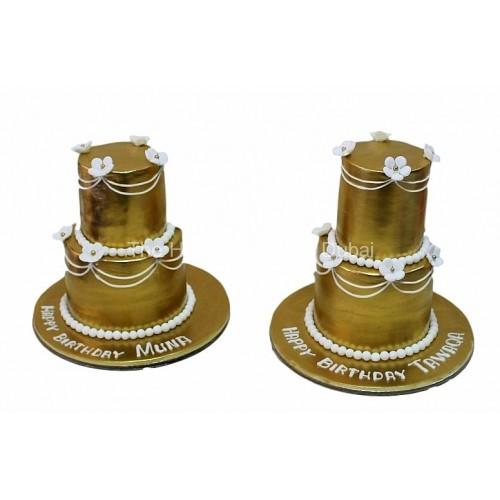 Golden mini cake 2