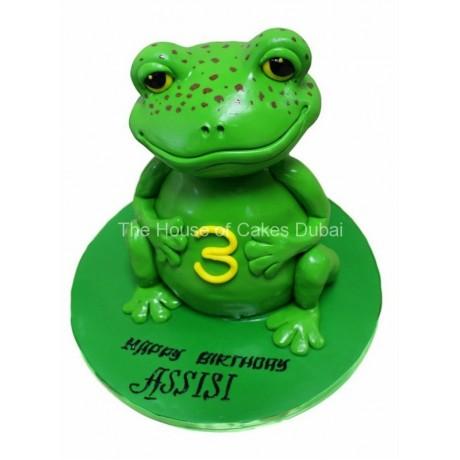 3d frog cake 2 6