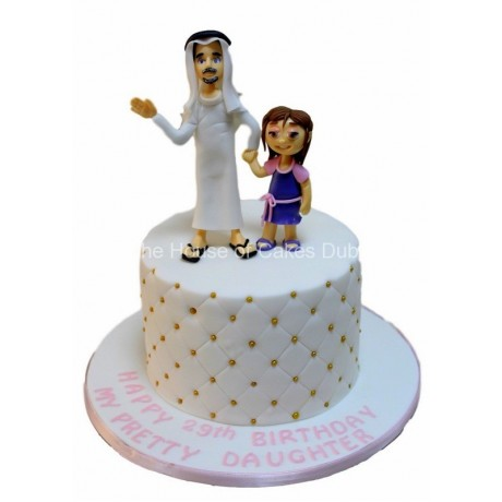 father daughter cake 6