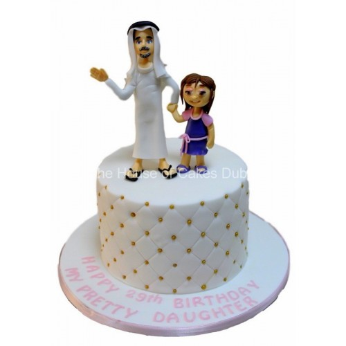 father daughter cake 7