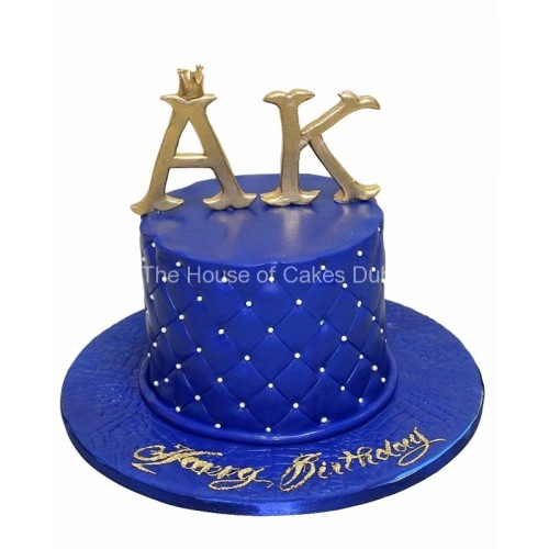 Cake with 2 letters