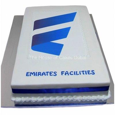 Emirates facilities cake
