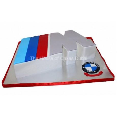 bmw logo cake 6