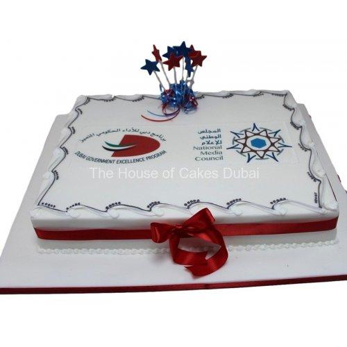Dubai Government cake