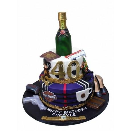 birthday cake with favorites 4 7