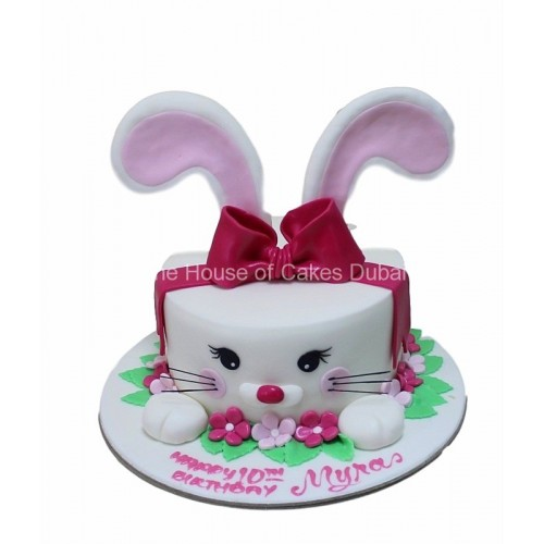 cute bunny cake 1 7