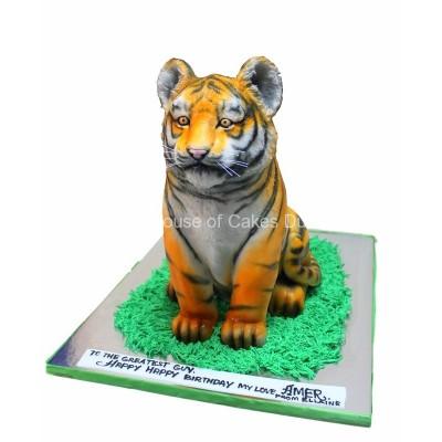 Tiger cake 3