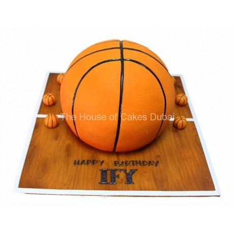basketball cake 4 6