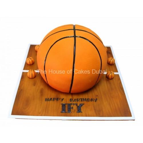basketball cake 4 8