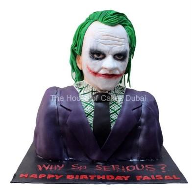 Joker Cake 3D