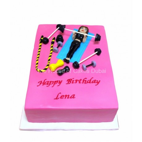 fitness cake 6 12