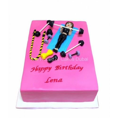 fitness cake 6 13