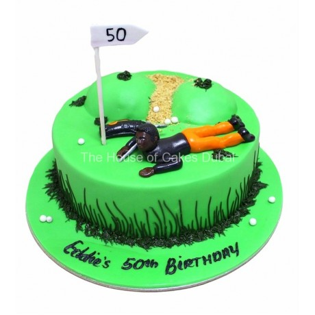 golf cake 9 6