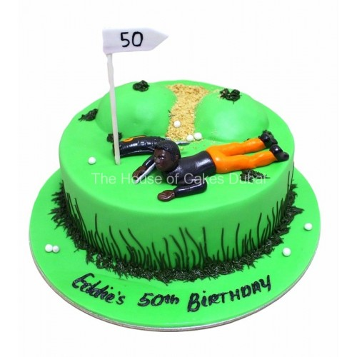 Golf Cake 9