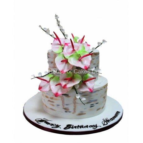 calla lily cake 6 6