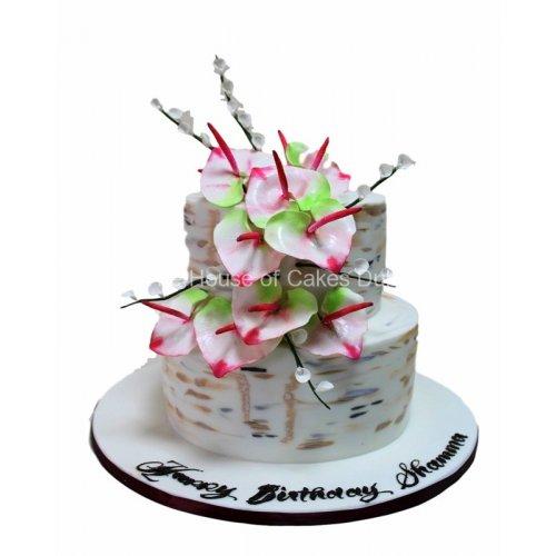 calla lily cake 6 7
