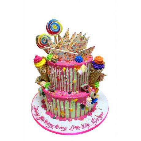 dripping cake 1 6