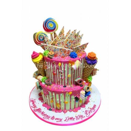 dripping cake 1 7