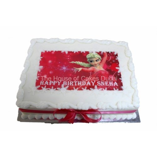 elsa cake 7 7