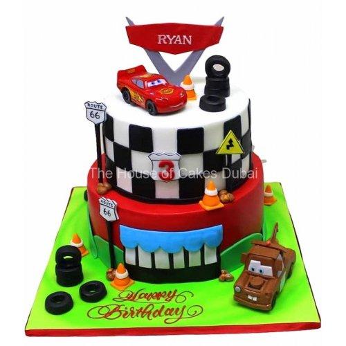 Disney Cars Cake 10