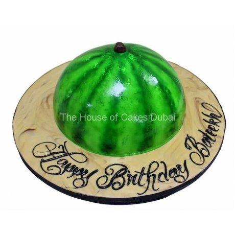 watermelon cake 3 6