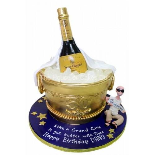 Champagne cake 3