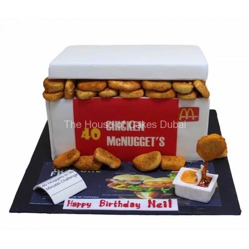 Chicken McNuggets Cake