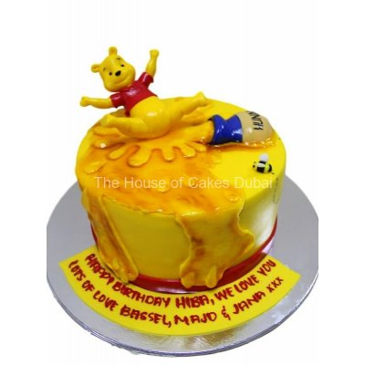 Winnie The Pooh Cake 28
