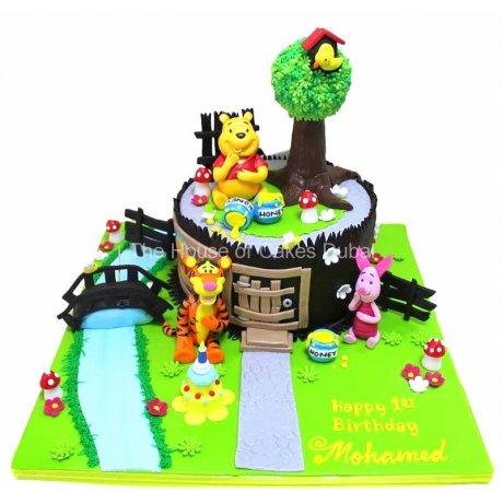 winnie the pooh cake 27 6