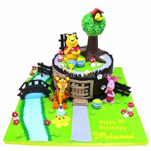 winnie the pooh cake 27 9
