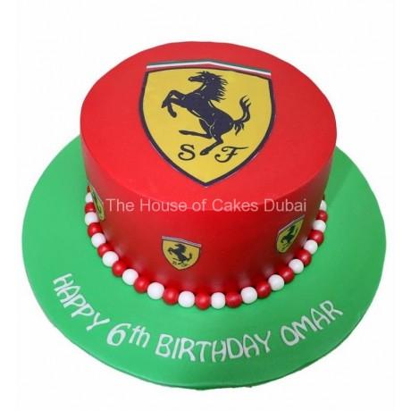Ferrari cake 8