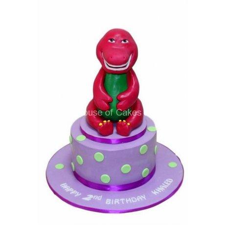 barney cake 30 6