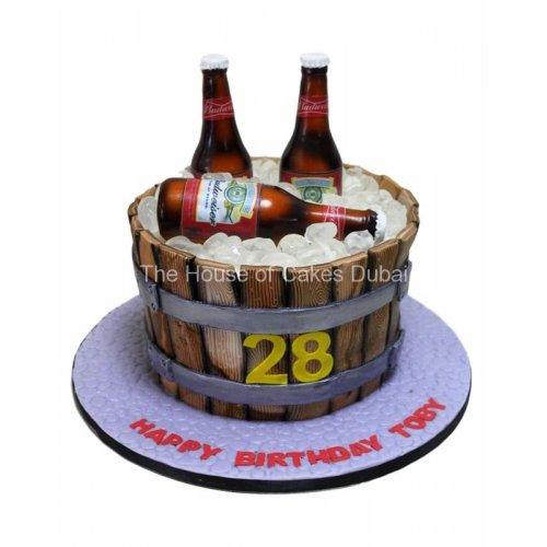 budweiser beers cake 13