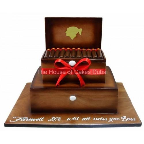 Cigar Box cake 4
