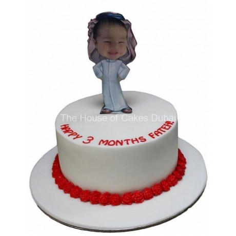 cake with standing photo 6
