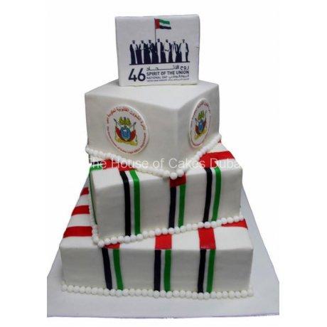 46th UAE national day cake