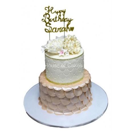 elegant birthday cakes 2 6