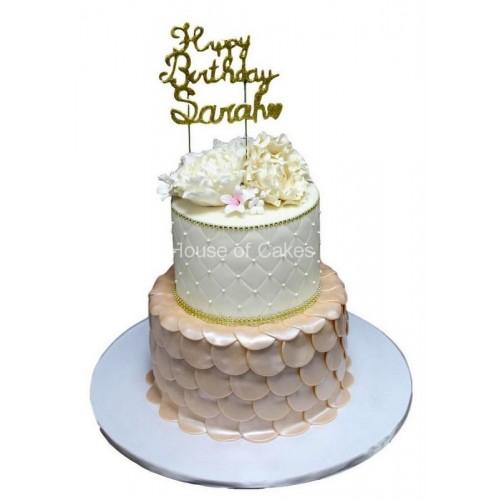 elegant birthday cakes 2 7