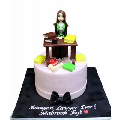 Working hard cake 1