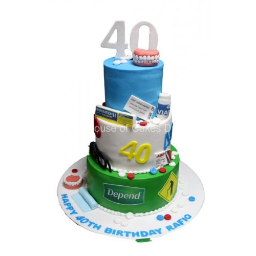 40th cake 4