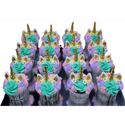 Unicorn cupcakes 2
