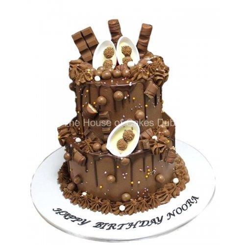 chocolate fantasy cake 4 7