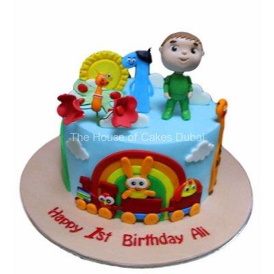 Baby TV cake 4