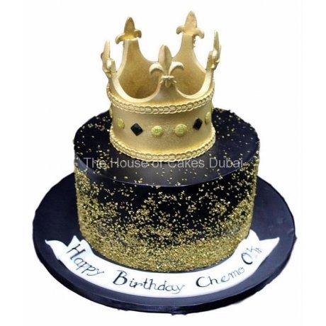 Crown cake 26