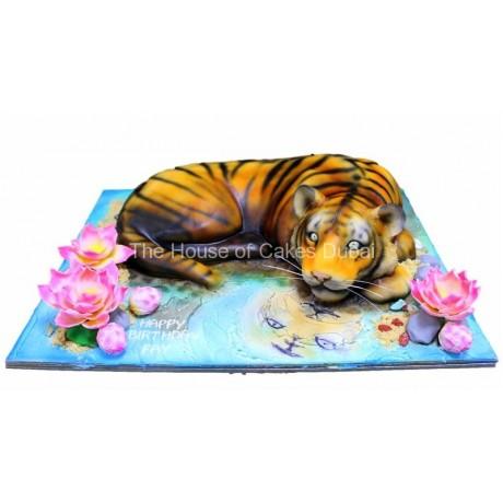tiger cake 4 6