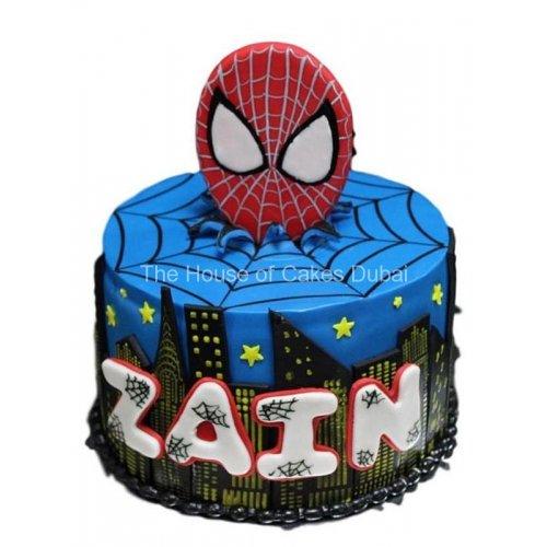 spiderman cake 22 7